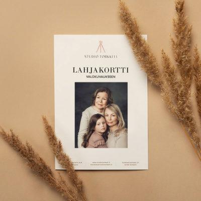 Lahjakortti Äidin kanssa -kuvaukseen