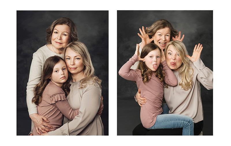 Äidin kanssa -kuva